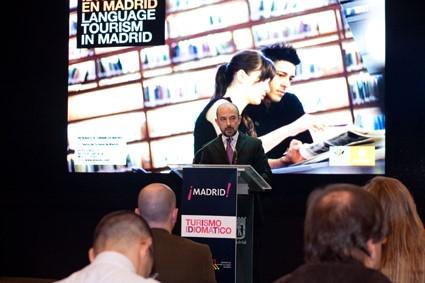 Presentación del Folleto Turismo Idiomático en Madrid