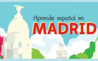 Tarjetón 2016: «Aprende español en Madrid»